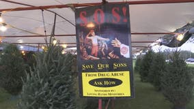 Christmas tree sales benefit addiction recovery ministry
