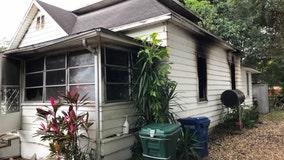 Neighbors save woman from burning Polk County home