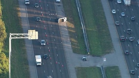 Serious crash snarls traffic on I-75 in Gibsonton