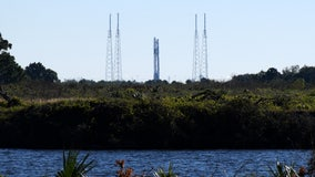 Space station cargo launch scrubbed due to upper-level winds