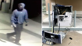 Hillsborough deputies search for suspect who blew up bank ATM