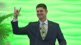 'Great Scott': USF formally introduces fans to new head football coach