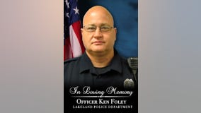 Lakeland police officer being laid to rest