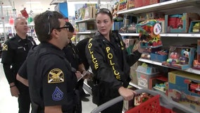 St. Pete officers pay it forward by buying toys for 200 kids in time for Christmas