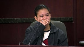 Woman recalls burst of gunfire that killed boyfriend