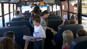 Books on the Bus: Polk kids can now read while they ride