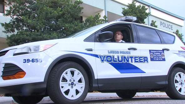 Volunteer has been giving back to community for 20 years