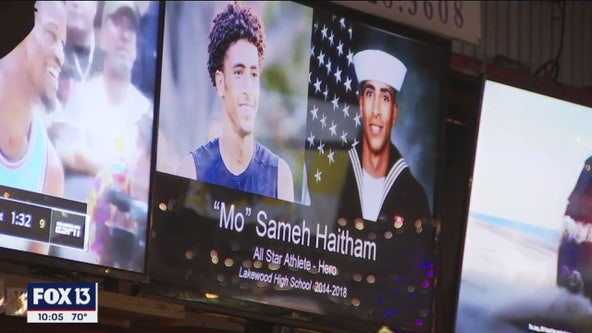 Fundraiser benefits family of 'hometown hero' killed in Pensacola base shooting