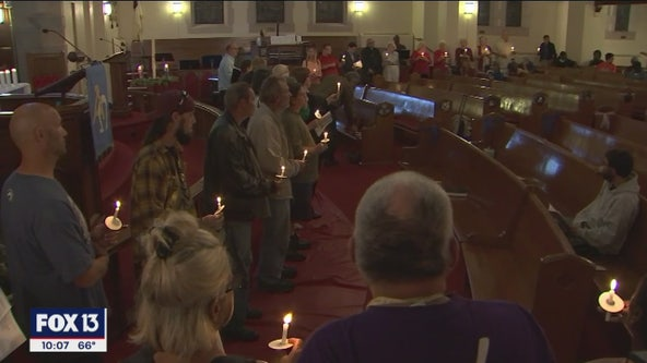 Memorial service held for the homeless who died in Pinellas County this year