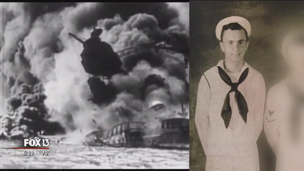 Local Pearl Harbor survivor recounts harrowing experience 78 years later