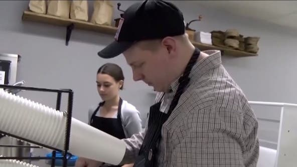 Rhode Island man with autism opens coffee shop after facing rejection from employers