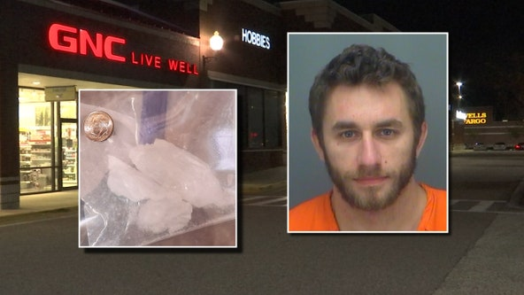 Largo GNC employee accused of selling meth inside store