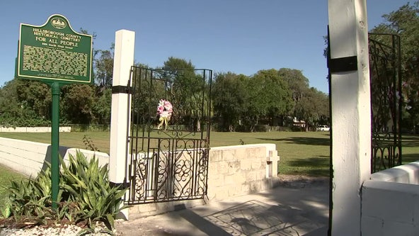 Thousands of unmarked graves may be buried under homes and businesses