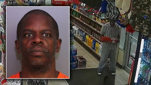 Polk sheriff: Man persistently tries to break gas station door to steal Pepsi