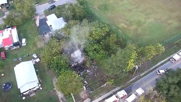 Dade City resident displaced after house catches fire, officials say