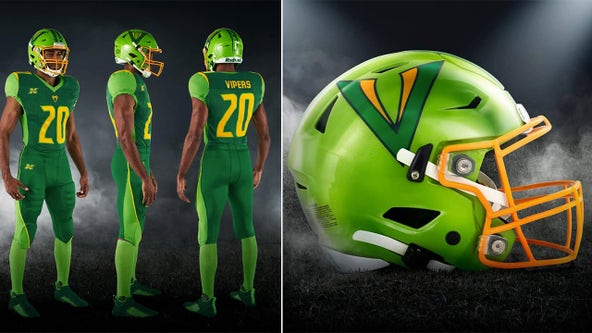 Tampa Bay Vipers reveal the team's uniforms with striking colors