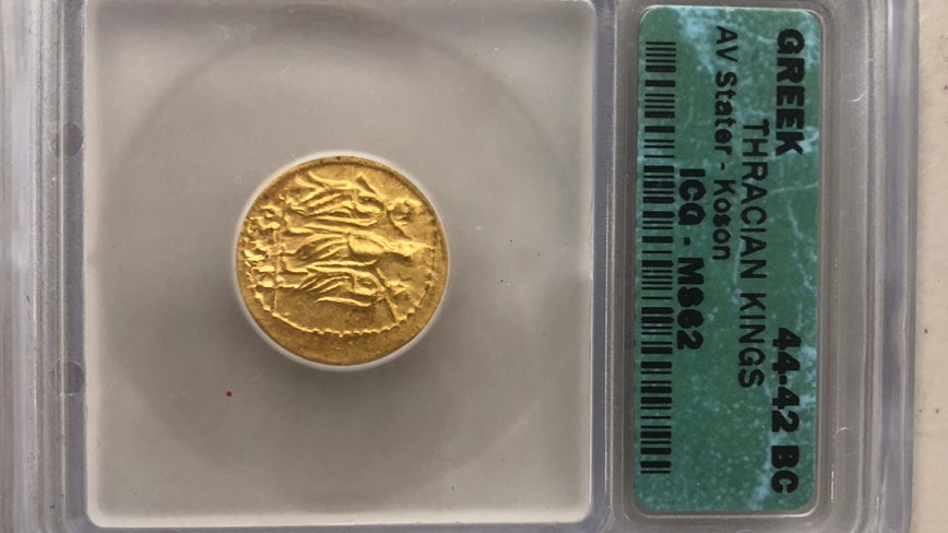 Rare gold coin found in Tampa Salvation Army red kettle