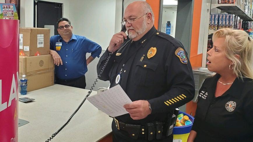 Dade City Police Department plays Secret Santa for dozens of local citizens