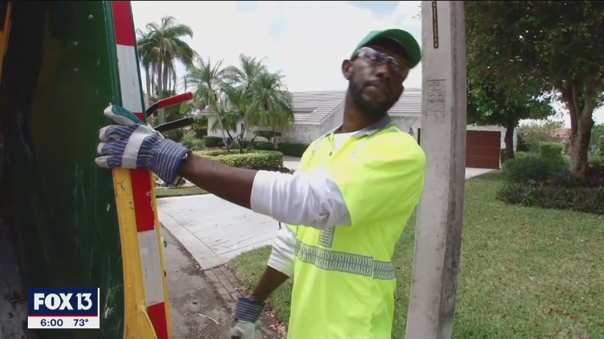 Sanitation workers trained to spot crime in Hillsborough, Pasco counties