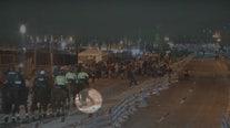 Video shows moment dog charges at deputy horses following Gasparilla parade