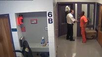 Raw surveillance video shows Tampa inmate punching deputy