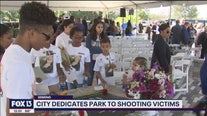 Midday update: Sebring dedicates park to shooting victims
