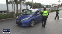Tampa seatbelt crackdown underway
