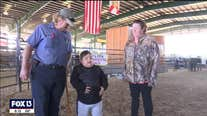 'Not a dry eye in the house' as 9-year-old kidney transplant recipient's prized pig breaks auction record