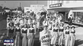 The costumed kids of the 1949 Gasparilla Children's Parade