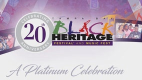 Tampa Bay Black Heritage Festival announces 20th anniversary event lineup