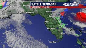 Wednesday afternoon weathercast