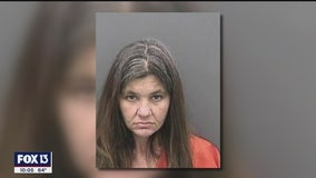 Woman arrested for DUI following 5-vehicle crash on I-4