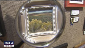 Dunedin has a huge exhibit of very small art