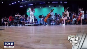 High school orchestra poised to make history