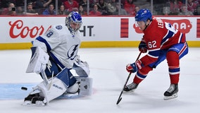 Lightning extend win streak to 7 with 2-1 win over Montreal Canadiens