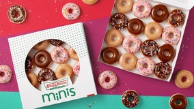 Krispy Kreme adding mini doughnuts to permanent menu in new 'cheat sweet' campaign