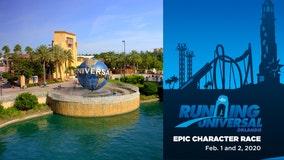 Deadline for Running Universal's Epic Character Race Jan. 29