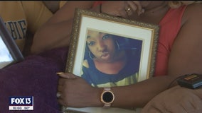 Driver of stolen car still on the run after crash that killed young mother in St. Pete