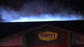 Two Denny's restaurant catch fire in the Bay Area