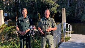 Baby strapped in car seat rescued by deputies after canoe overturns in Weeki Wachee River