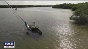 Florida lawmakers hope to crack down on derelict boats
