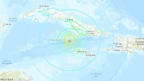 Powerful 7.7 earthquake hits between Cuba and Jamaica, USGS says