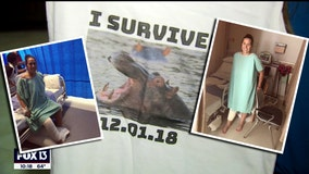 Still recovering from hippo attack, Odessa woman running Disney 5K Thursday