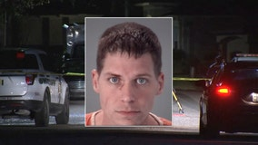 Naked suspect was found walking in roadway, covered in blood after Pasco double-stabbing