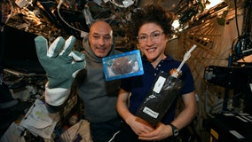 First space-baked cookies took 2 hours in experimental oven aboard ISS