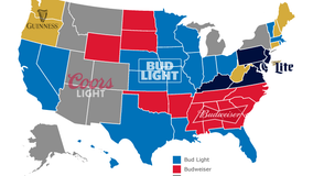 Super Bowl beer map: Here's which brew each state will probably be drinking Sunday