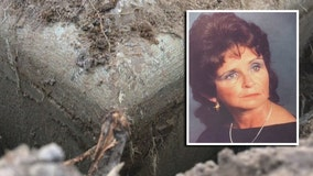 Son seeks answers about mother's choking death; body exhumed after 35 years