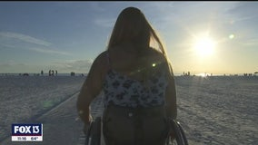 Paralympian on mission to find Florida's most wheelchair-accessible beaches