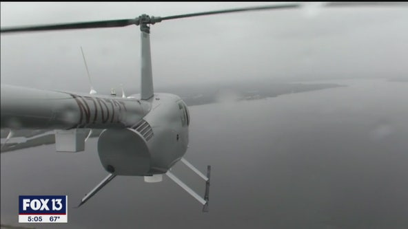 SkyFOX pilot 'surprised' by choice to fly Bryant's chopper despite dense fog