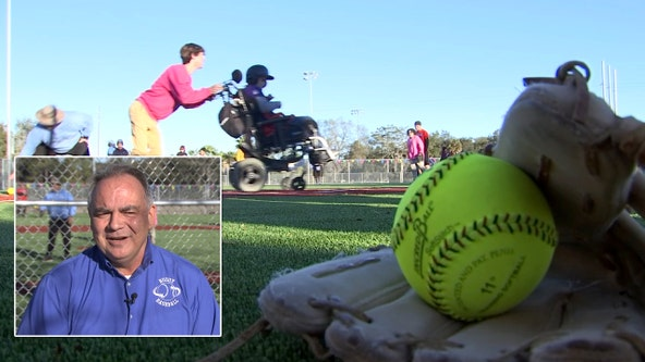 Man behind 'Buddy Baseball' helps children with special needs play ball